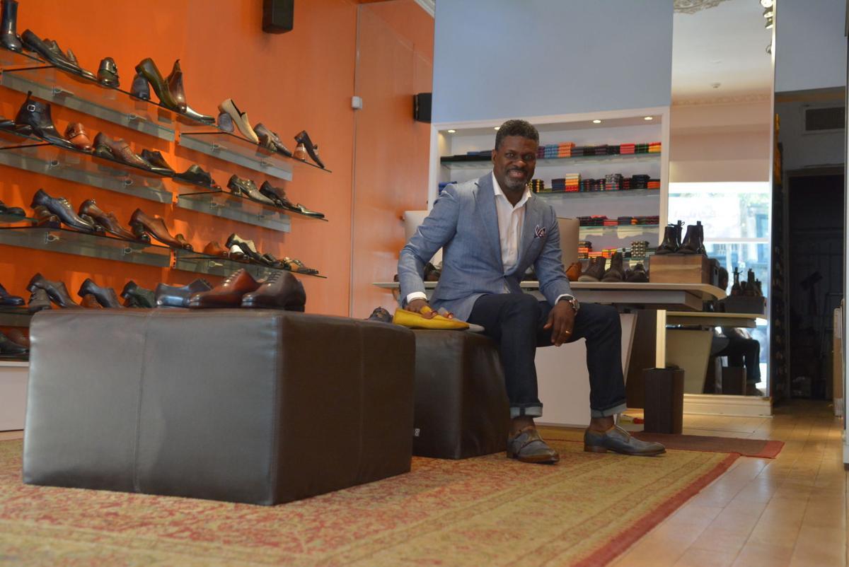 Black Retailer Put Heart Soul Into Top Shelf Shoe News Phillytrib Com