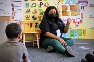 2021 10 01-e lee-kendra jackson-philadelphia childrens playhouse whitman-child care worker shortage