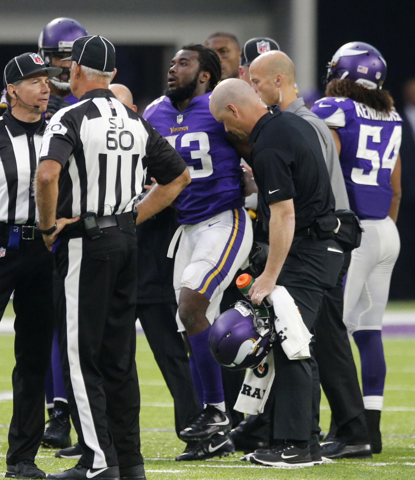 Remmers not listed on injury report for Vikings