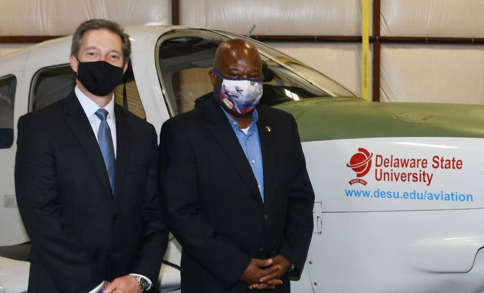 Delaware State University partners with United Airlines to train new pilots