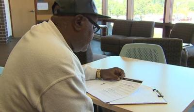 58-year-old high school student inspired by ex-slave's drive