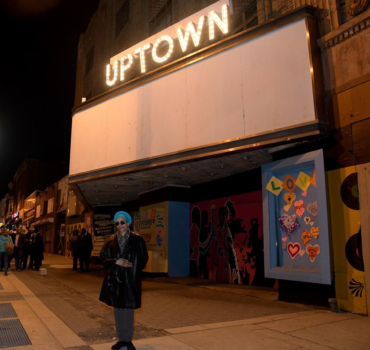 Light Up Theater: Uptown Theater's Marquee Lights Up For Its 90th