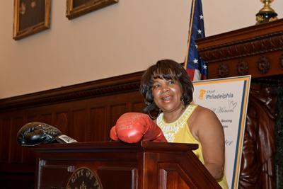 City honors trailblazing female boxing judge