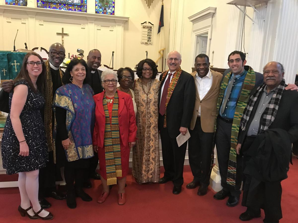 Members of Oxford Presbyterian Church presented its Black History Month program on Sunday.