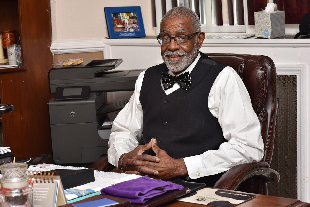 The Rev. Quincy C. Hobbs Jr. is pastor of Zion Hill Baptist Church. — TRIBUNE PHOTOS BY RONALD GRAY