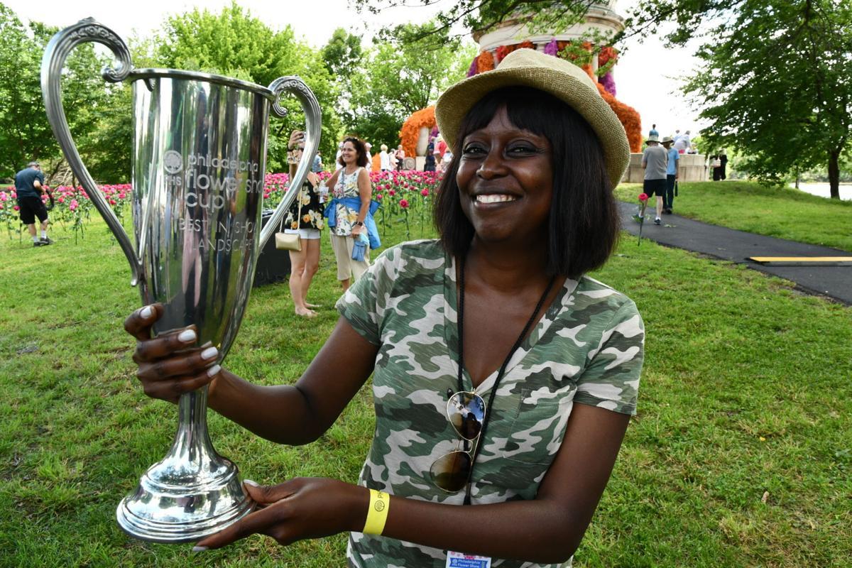 Wambui Ippolito wins best in show at Philadelphia Flower Show 2021