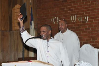 Church greets new year with hope