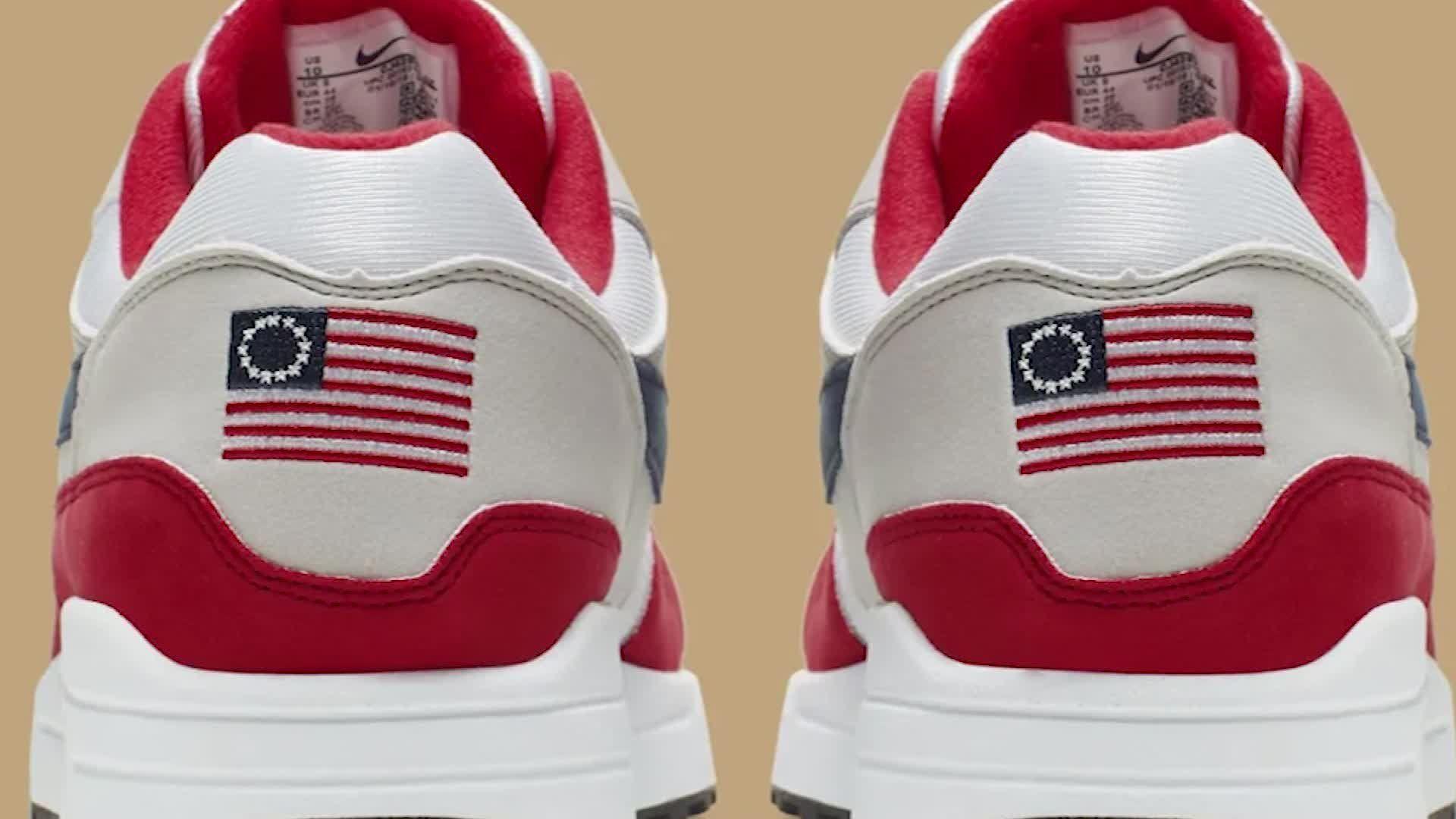 Nike cancels flag shoes amid Kaepernick