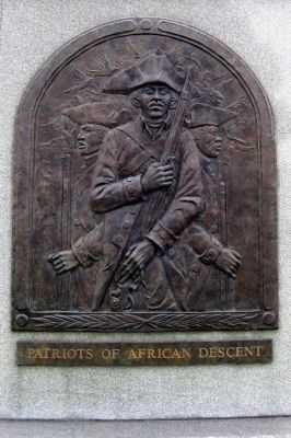 African patriots monument celebrated
