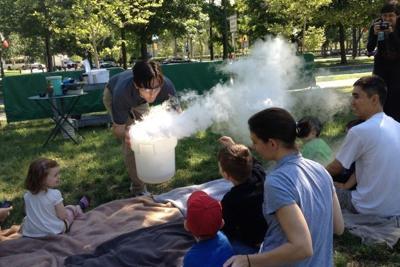 Public park a haven for parents, kids