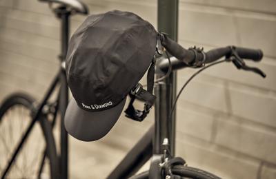 Park & Diamond's new foldable, portable bicycle helmet