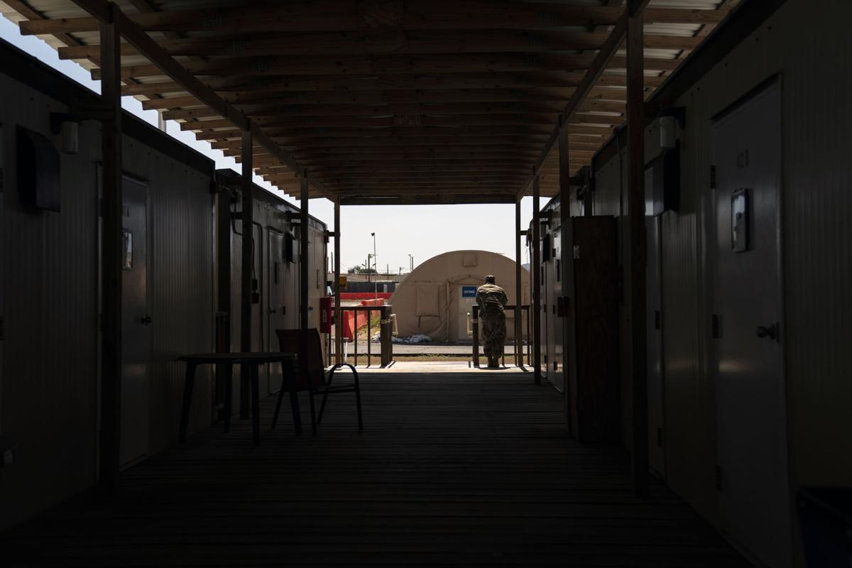 The base at Guantanamo Bay, Cuba
