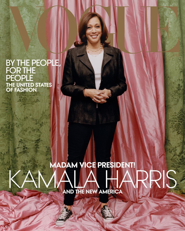 Vice President-elect Kamala Harris on Vogue cover