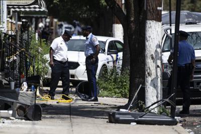 Philadelphia Gunman Standoff
