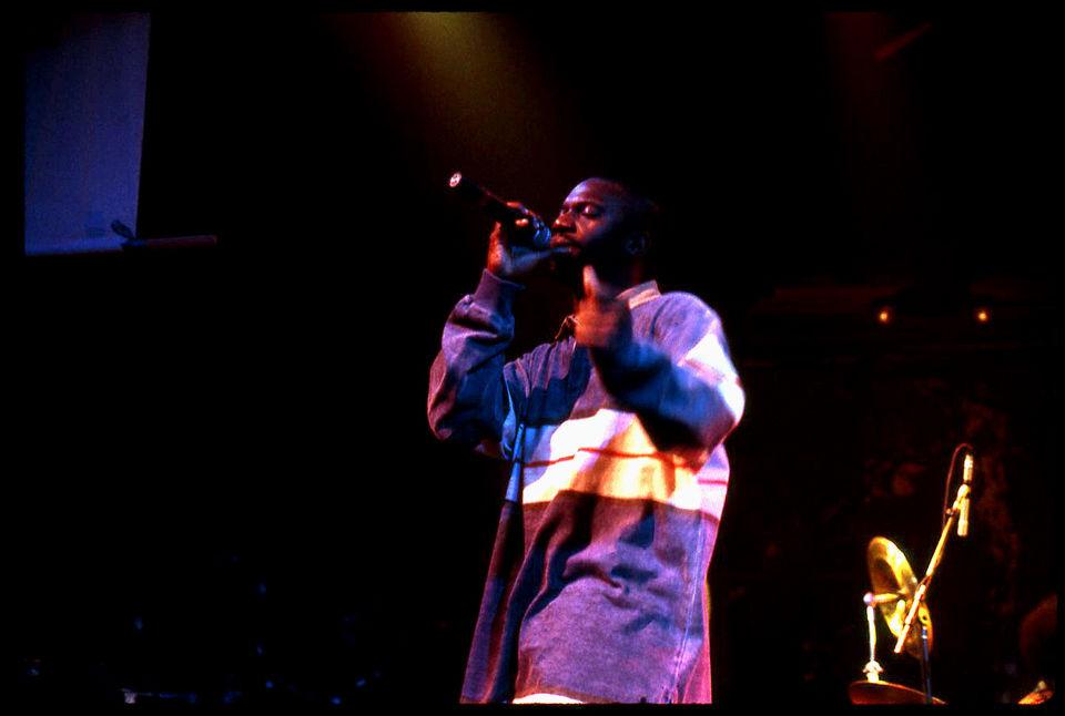 Malik B performs