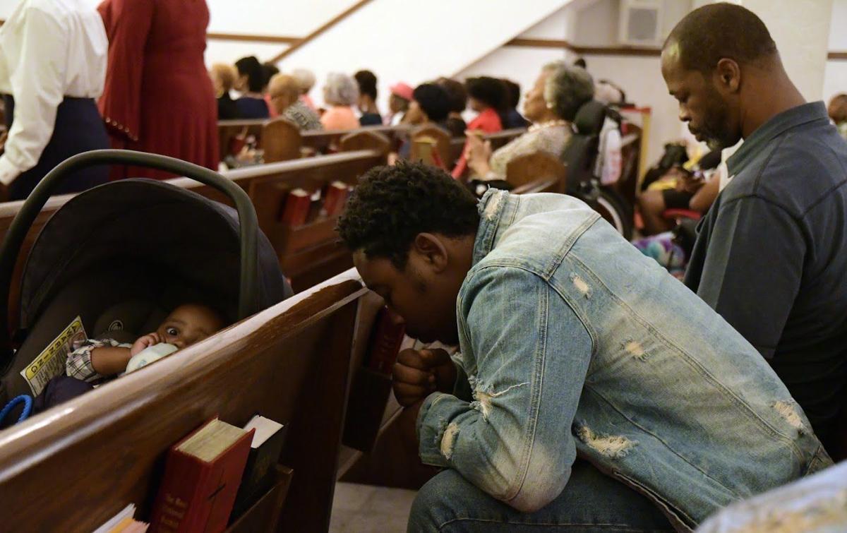 Mount Airy Baptist Church member Isaiah Tolbert