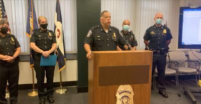 Indianapolis Police Chief Randal Taylor