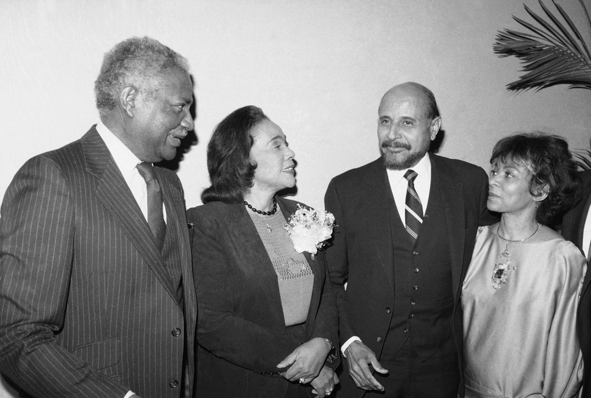 Coretta Scott King 1984