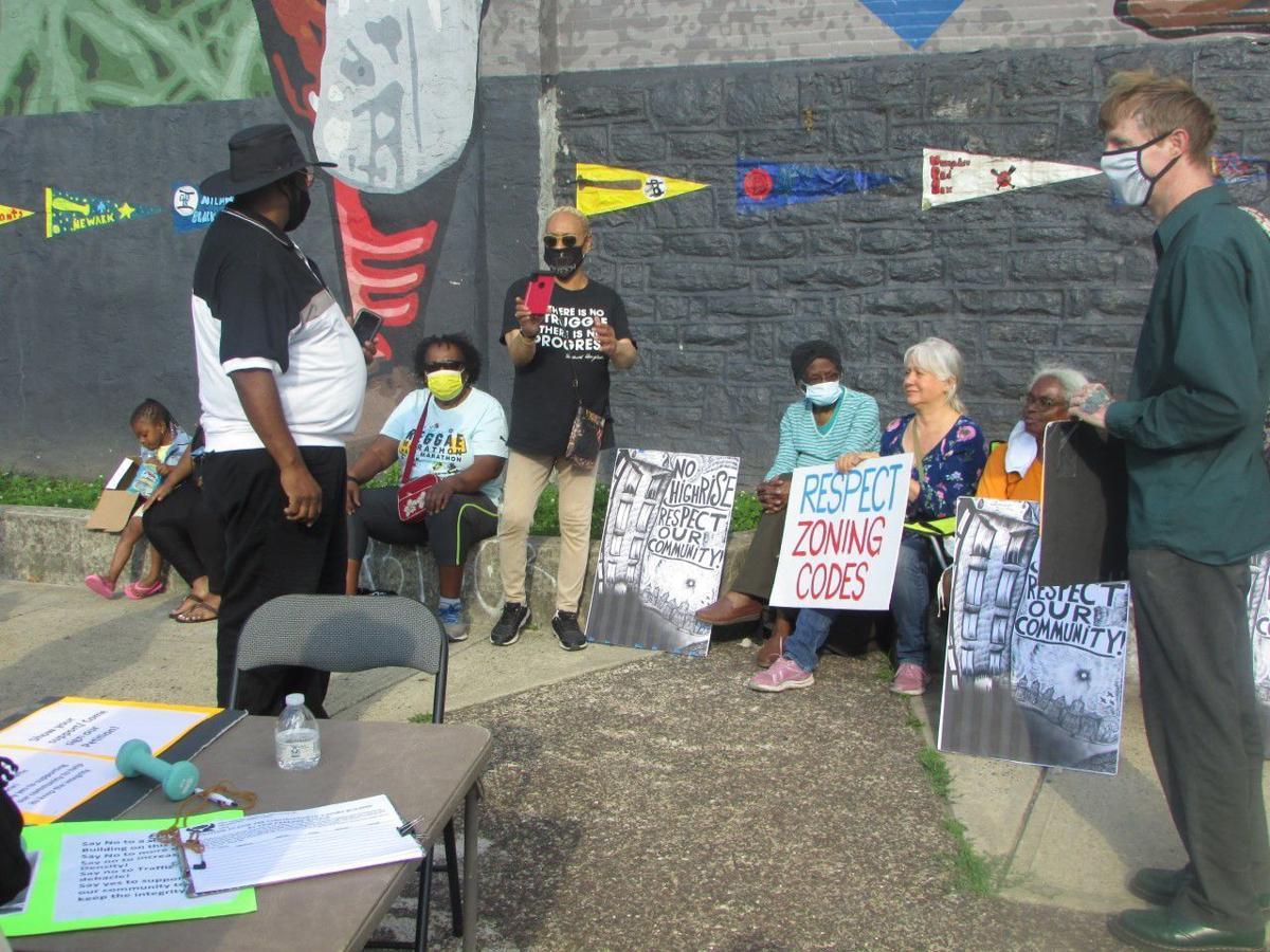 East Parkside residents protest
