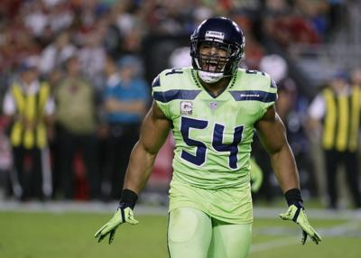 In this Nov. 9, 2017 file photo, Seattle Seahawks middle linebacker Bobby Wagner reacts during an NFL football game against the Arizona Cardinals in Glendale, Ariz. The Seattle Seahawks have agreed to a three-year contract extension with Wagner, an All-Pro middle linebacker. — AP Photo/Rick Scuteri, File