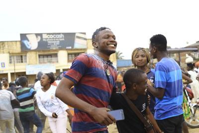 Ebola survivor triumphs