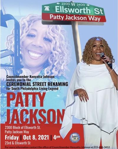 Patty Jackson street renaming