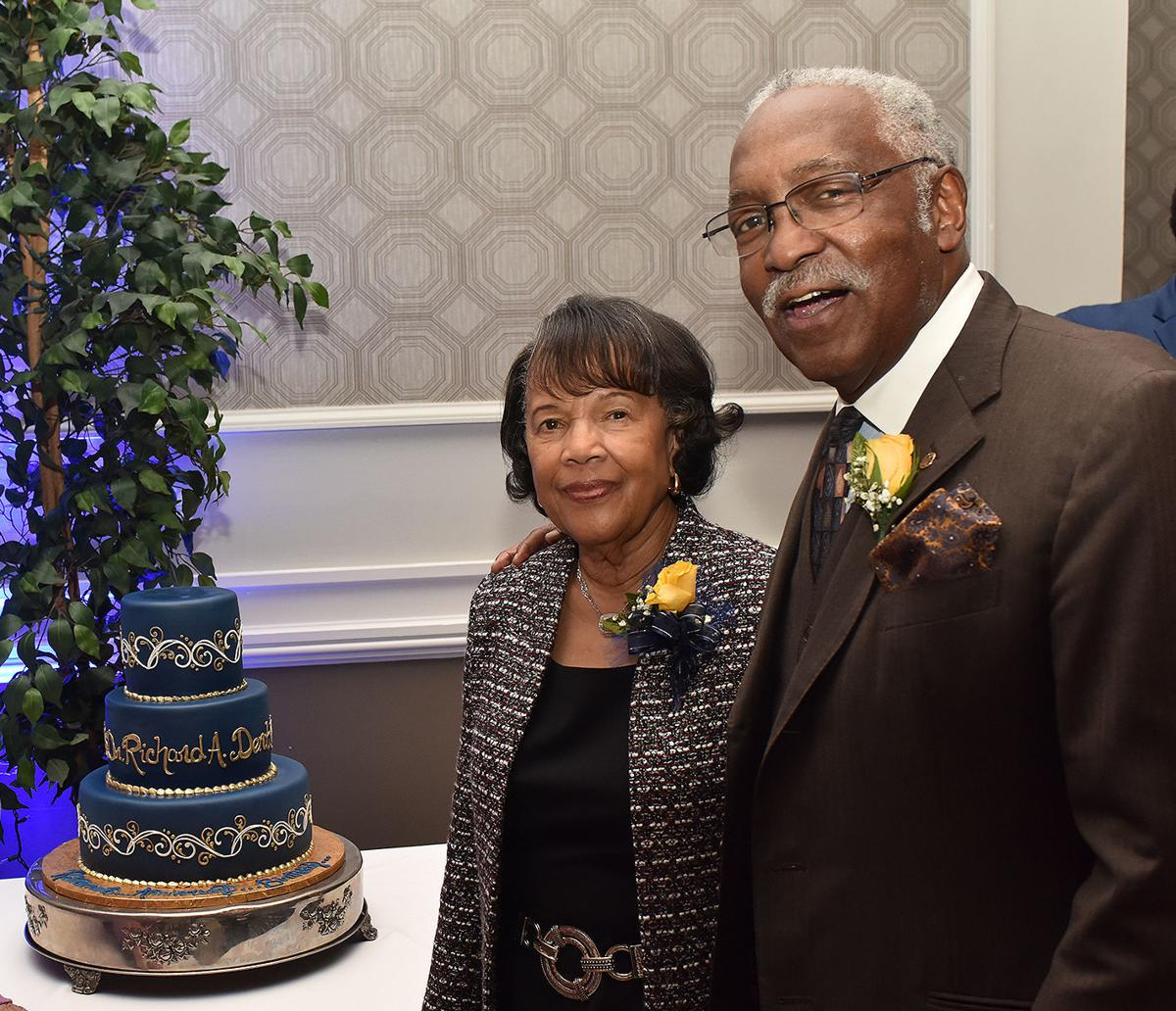Rev. Richard Dent and his wife, Beatrice Dent.