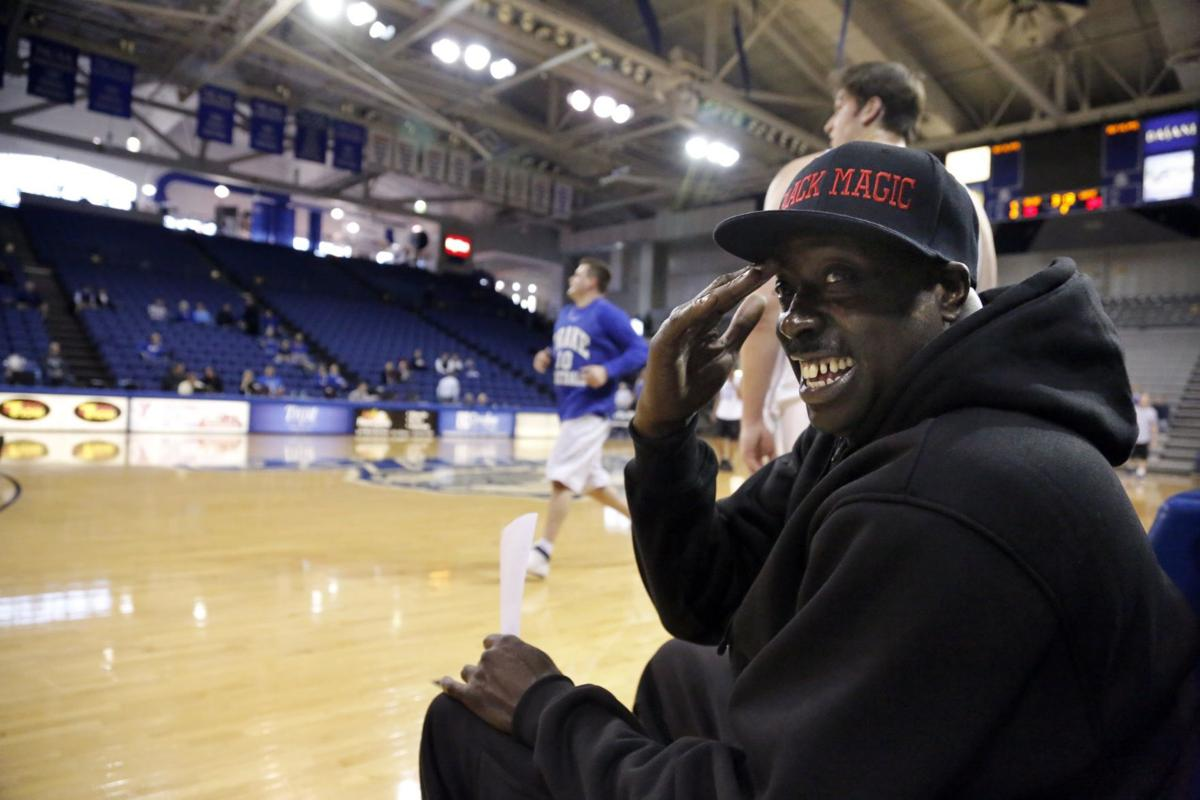 "The late Lewis ""Black Magic"" is still thought of highly at Drake University. — Courtesy of Des Moines Register"