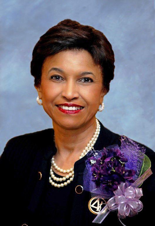 Delta Sigma Theta Sorority President Beverly E. Smith
