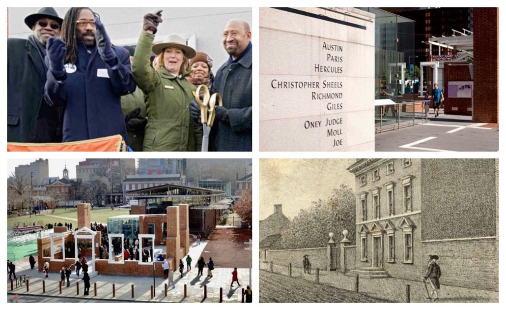 Philly homage for 9 enslaved by George Washington