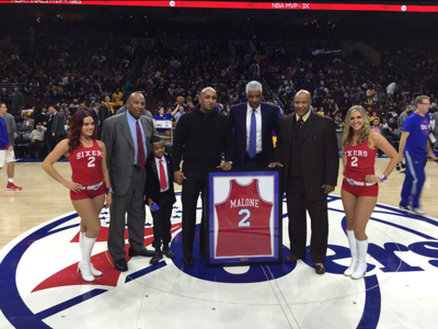 19fd3cef933d Daryl Bell  Sixers to finally retire Moses Malone s No. 2 jersey ...