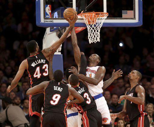 Wade, Bosh lead Heat over Knicks 86-79 | Sports ...