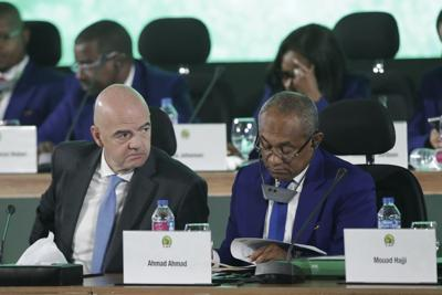 Infantino rejects Blatter's criticism of African cleanup