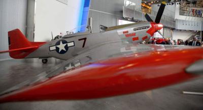 Tuskegee Airman plane