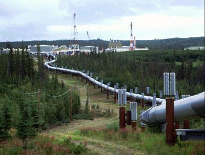 Virus Outbreak-Alaska Oil Check in Peril