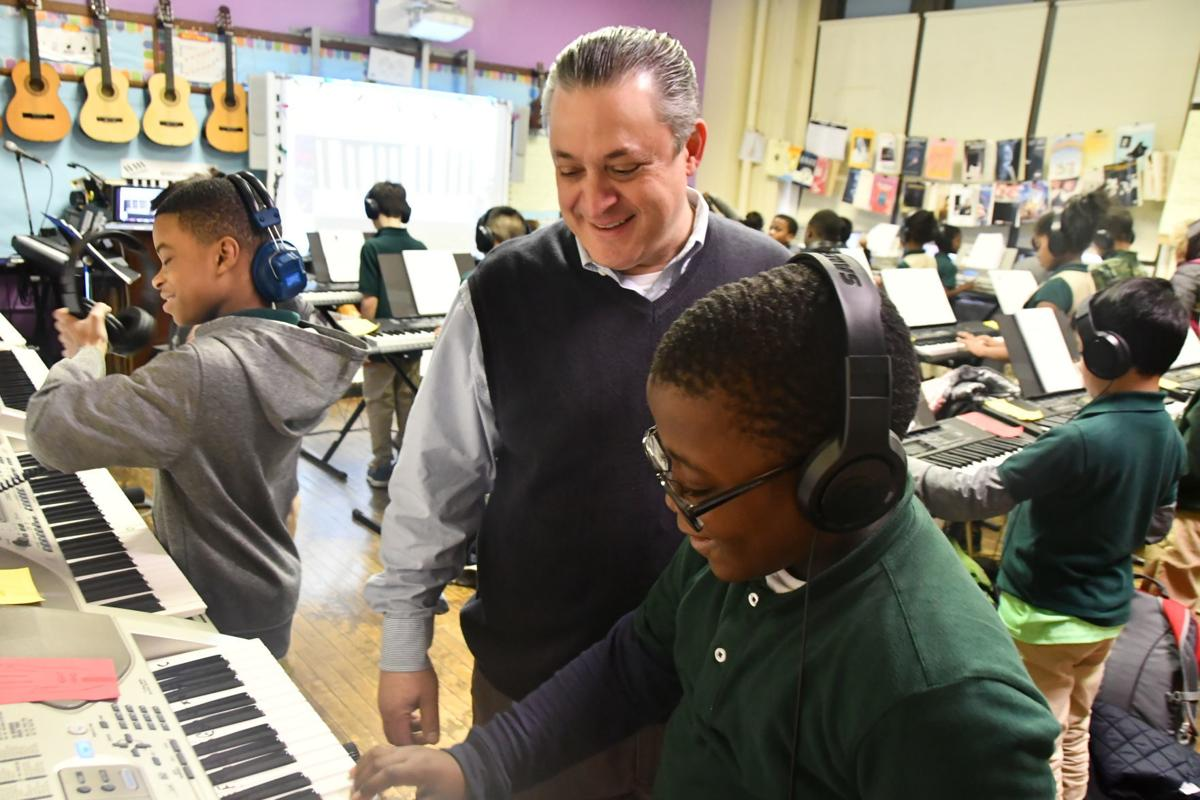 Students hit all the right notes at Nebinger
