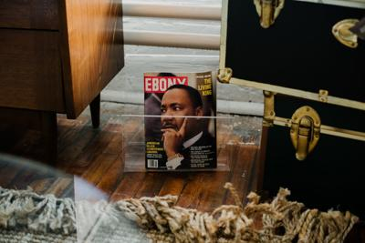 Ebony magazine from 1982