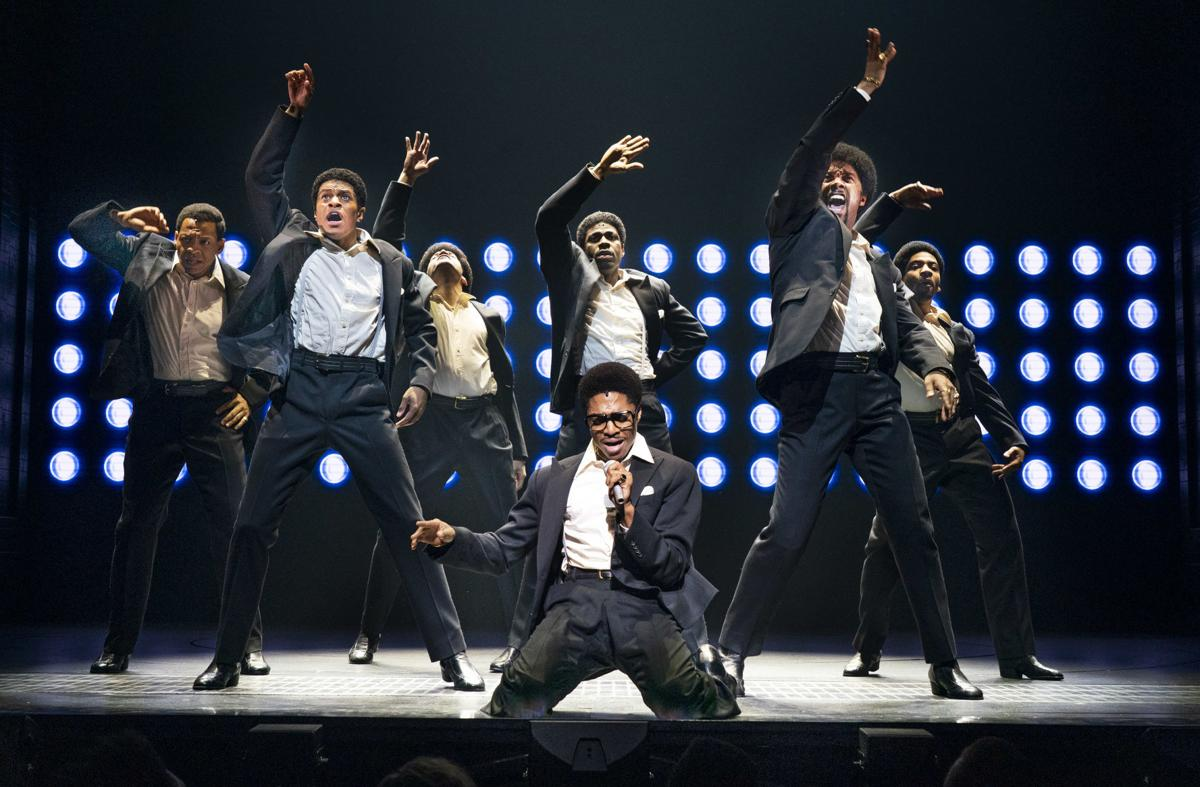 An all-star team in the Temptations musical 'Ain't Too Proud