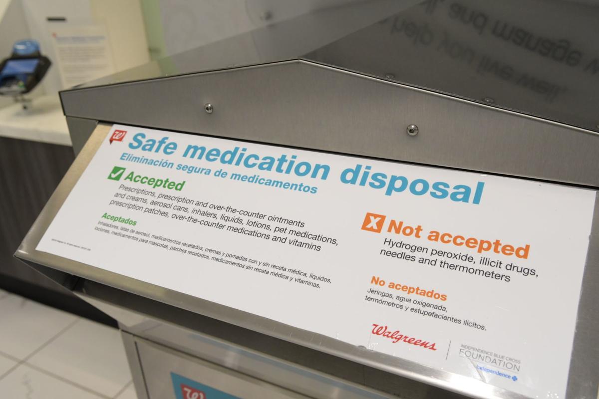 Safe medication disposal kiosk
