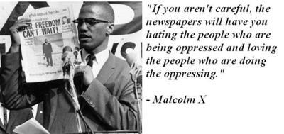 Malcolm X Newspaper