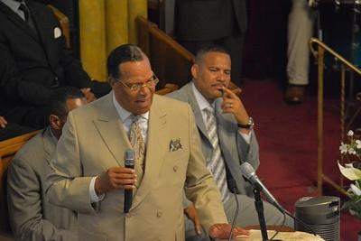 Farrakhan warmly welcomed at First African Baptist