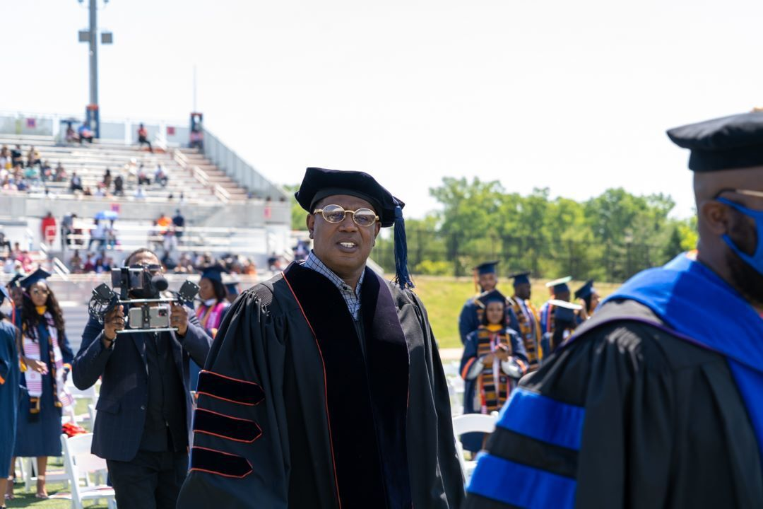 Master P - Percy Miller at 2021 Lincoln University commencement