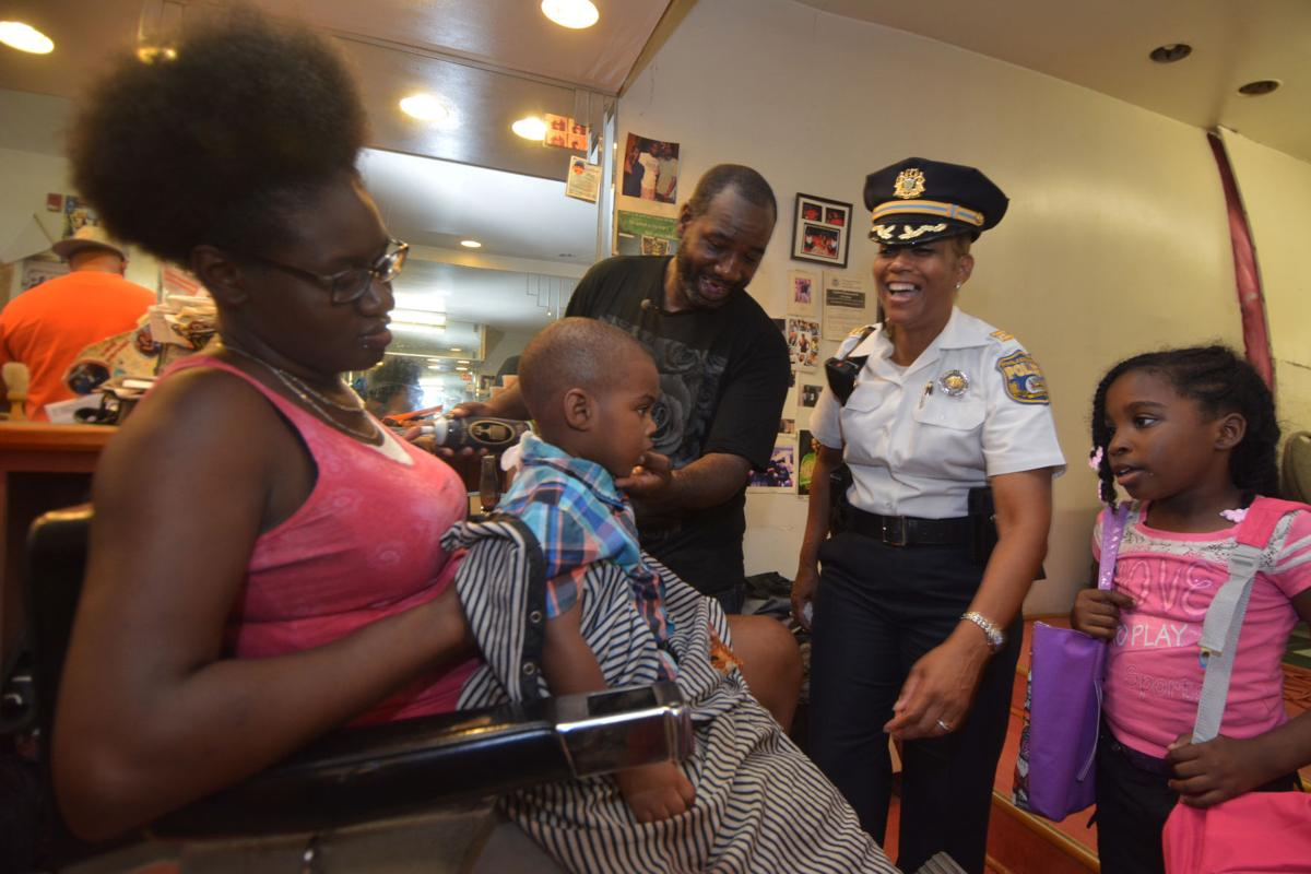 Cops Haircuts Talk At Back To School Event News Phillytrib