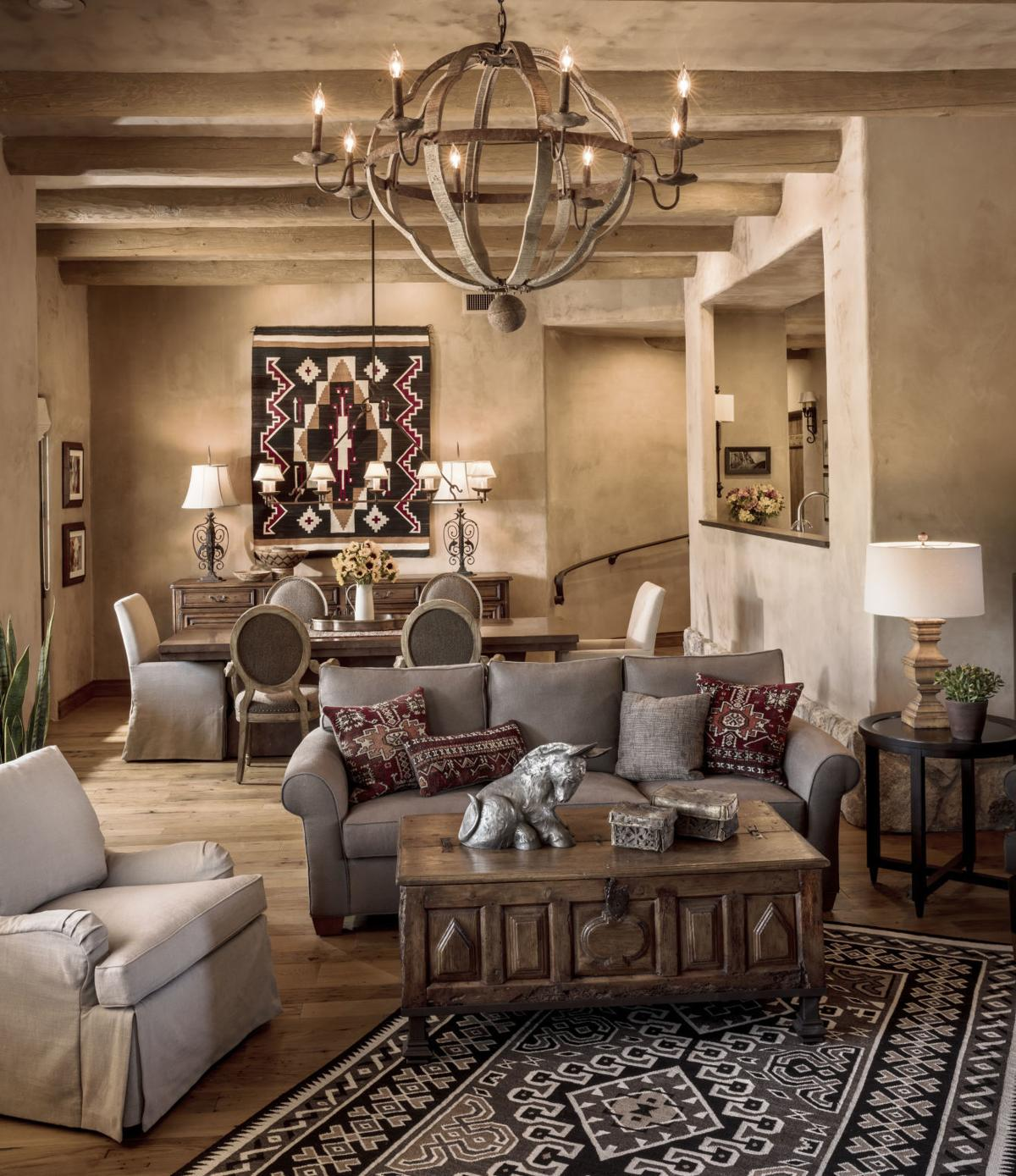 Warm Rustic Home Decorating Pinterest: Warm And Casual Southwest Style Is Hot In Decor