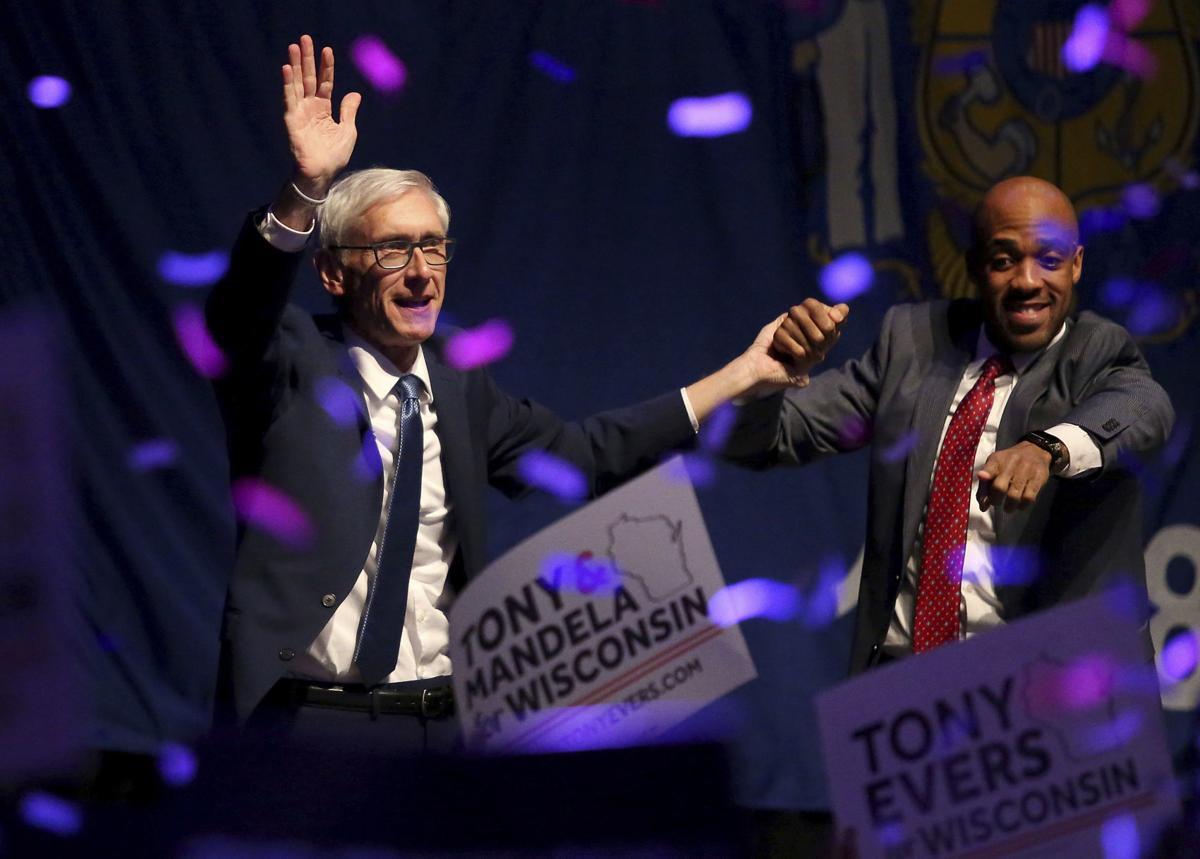 Tony Evers and Mandela Barnes