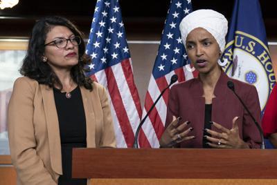 Rashida Tlaib and Ilhan Omar