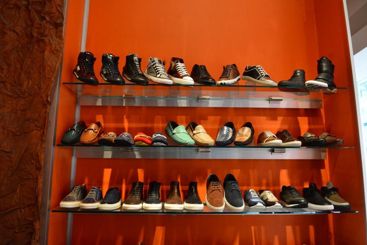 Steve Jamison Blue Sole Shoes