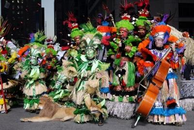Get out 'Dem Golden Slippers' — it's Mummers time