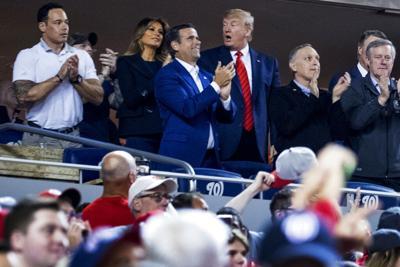 President Trump booed