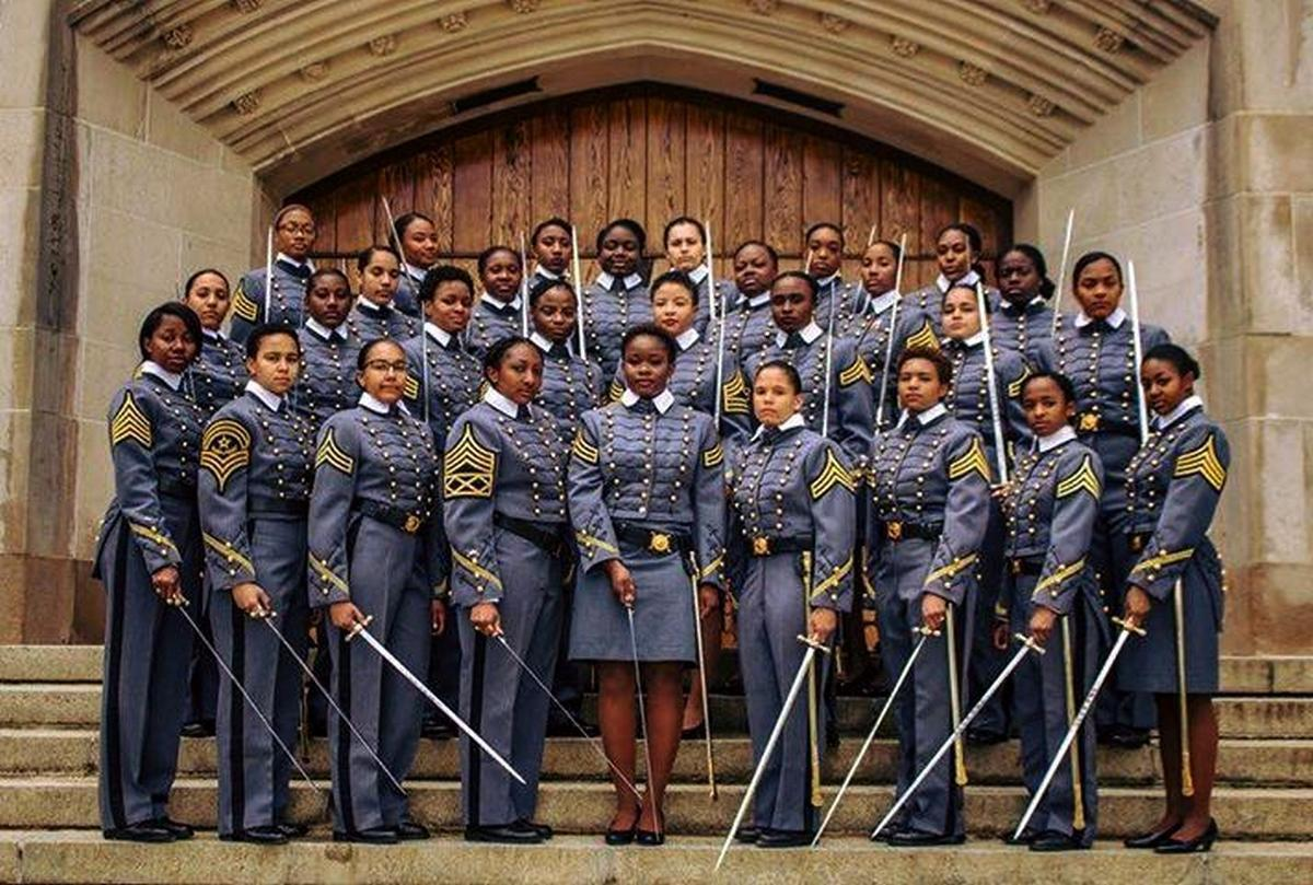 d67bee6bc1f West Point graduates largest class of Black women | Across America ...